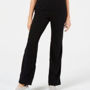 Karen Scott Petite Microfleece Pull-on pants Sz XL